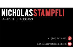 Nicholas Stämpfli Business Card