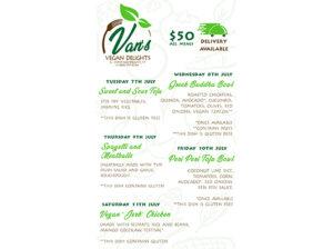 Van's Vegan Delights Social Story