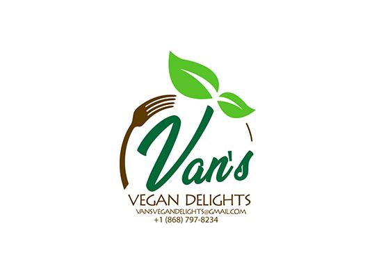 Van's Vegan Delights Logo