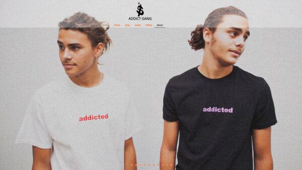 Addict Gang Website