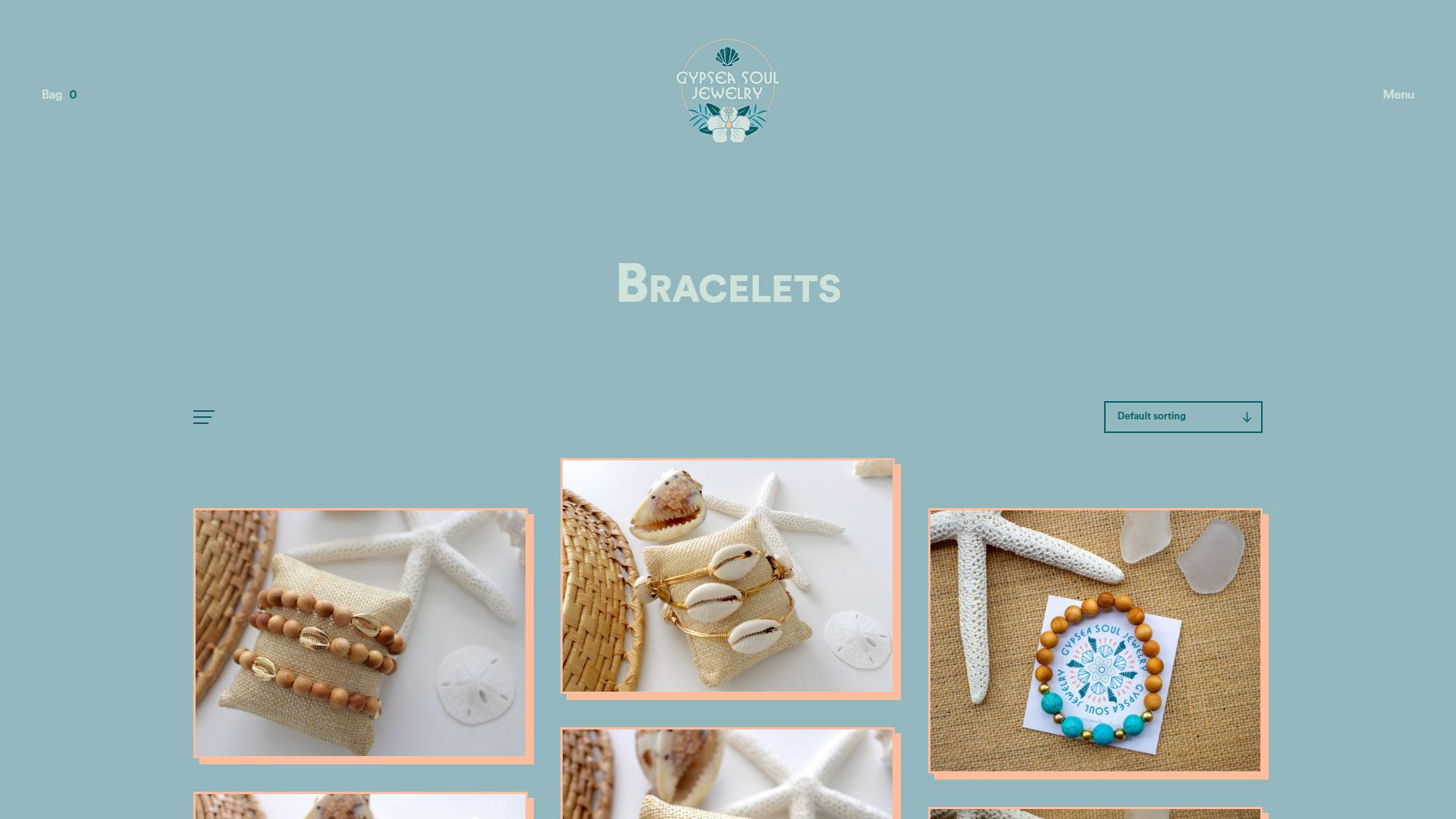 Gypsea Soul Jewelry Website