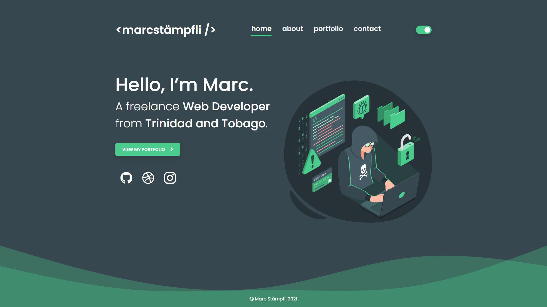 Marc Stämpfli Website