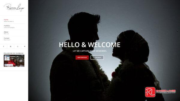 RL Photography Website