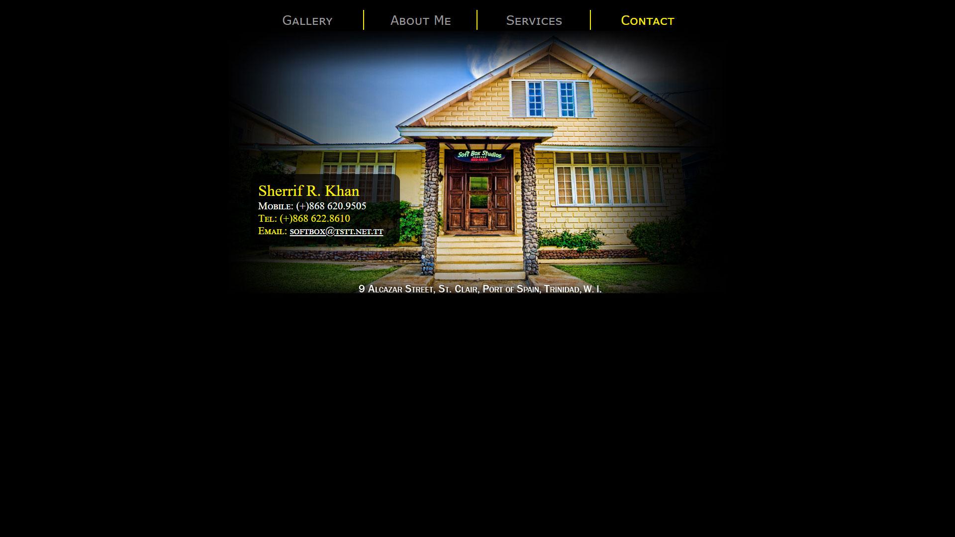 Softbox Studios Website